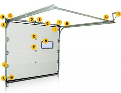 Конструкция секционного заграждения