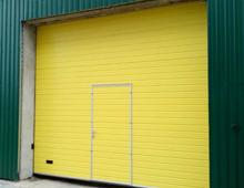 Промышленные секционные ворота в г. Ивацевичи (Брестская область)