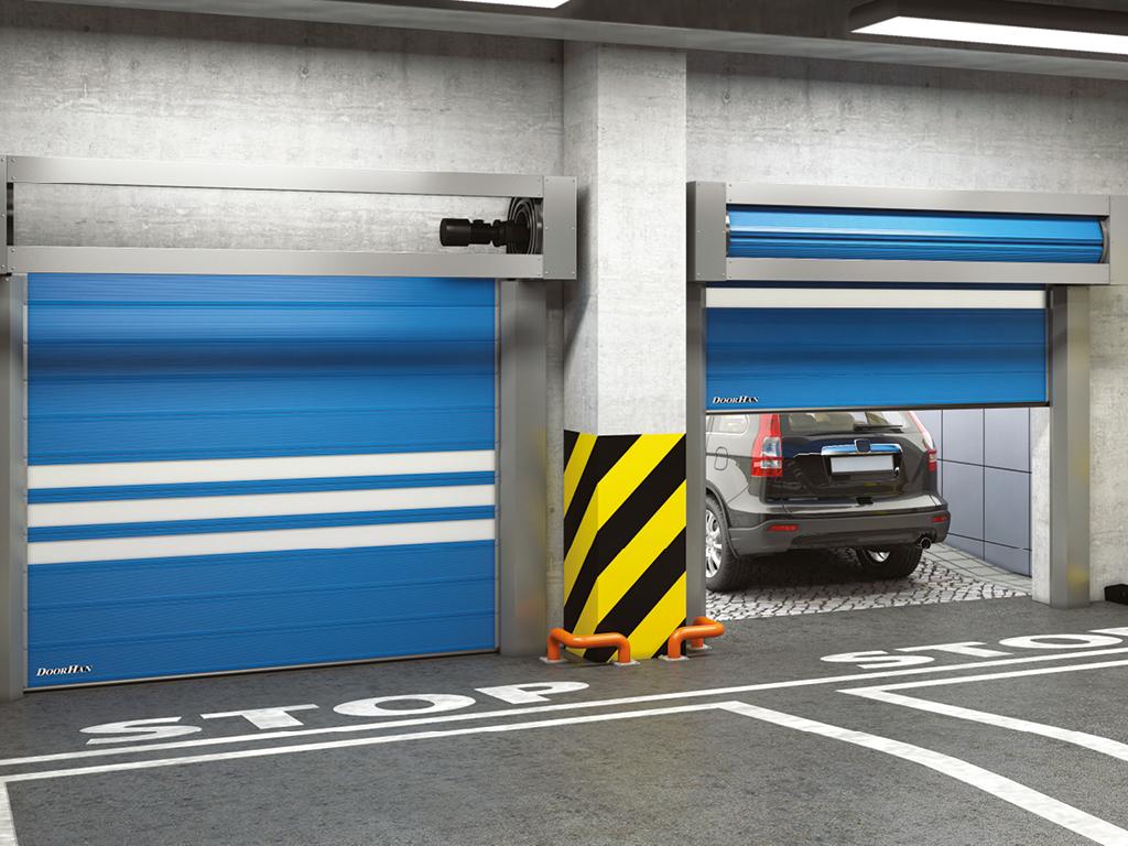 Спиральные скоростные ворота
