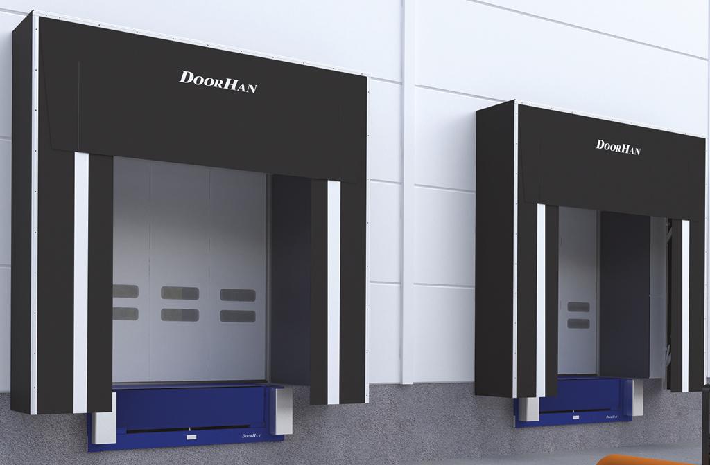 Перегрузочный тамбур DoorHan стандартной серии