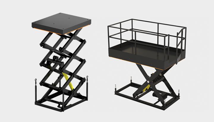 Типы подъемных столов