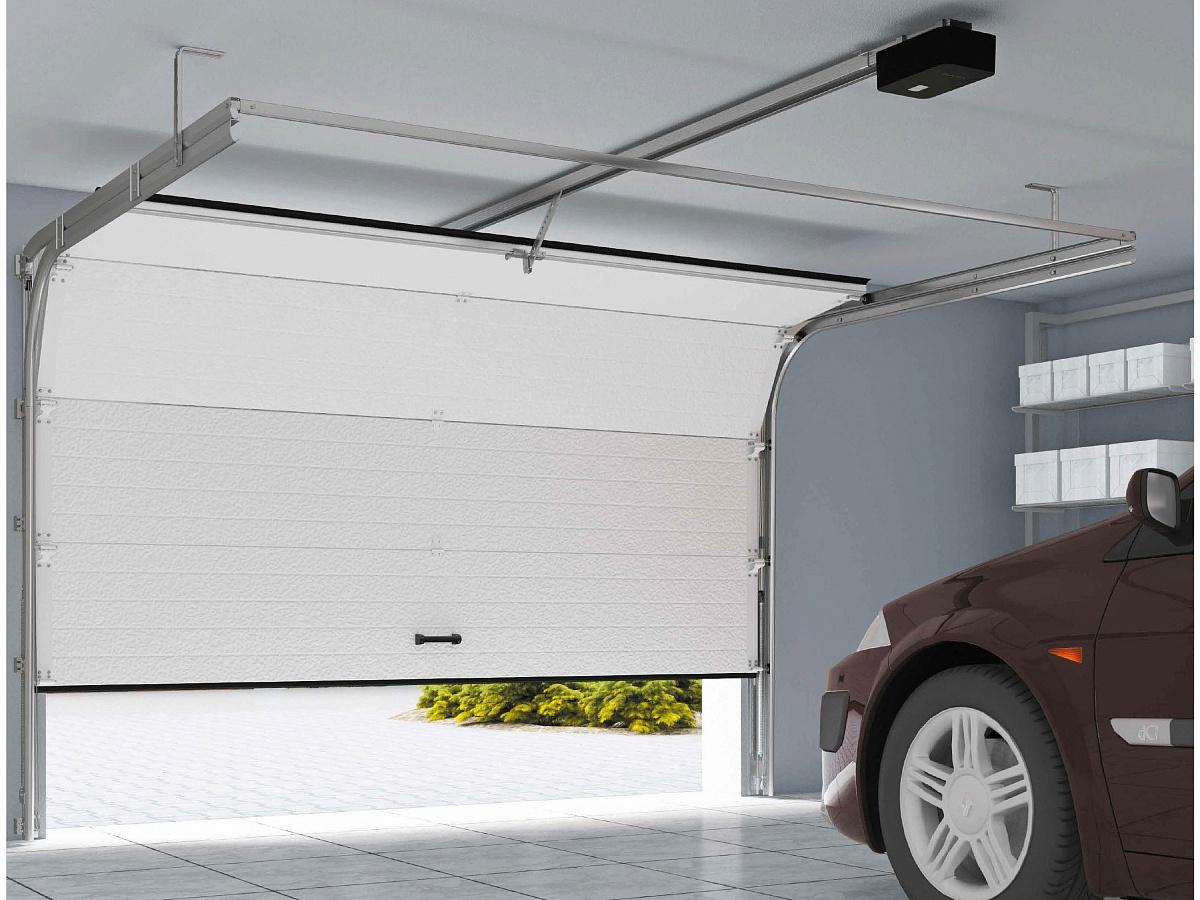 Плюсы секционных гаражных ворот